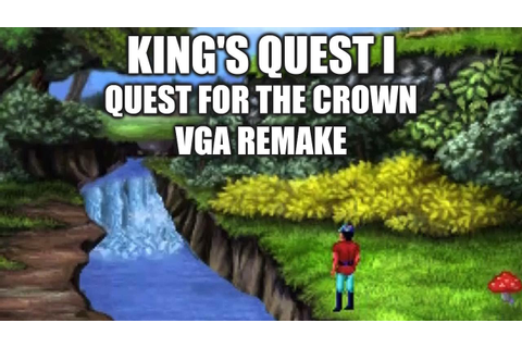 KING'S QUEST I (VGA Remake) Adventure Game Gameplay ...