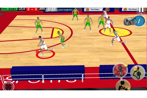 Real Basketball Game 2016 - YouTube
