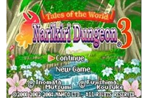 Tales of the World: Narikiri Dungeon 3 - Wikipedia