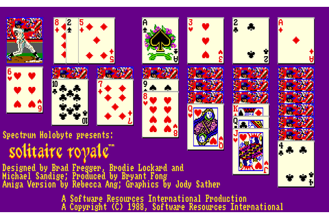 Solitaire Royale (1988) by Software Resources ...