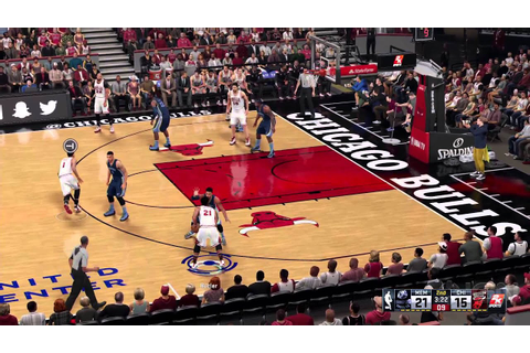 NBA 2K16 Gameplay: Bulls vs. Grizzlies - YouTube
