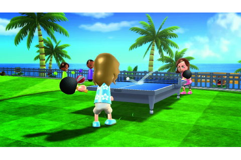 video-games: Wii Sports Resort
