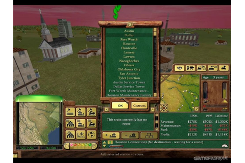 Railroad Tycoon 3 Download Game | GameFabrique