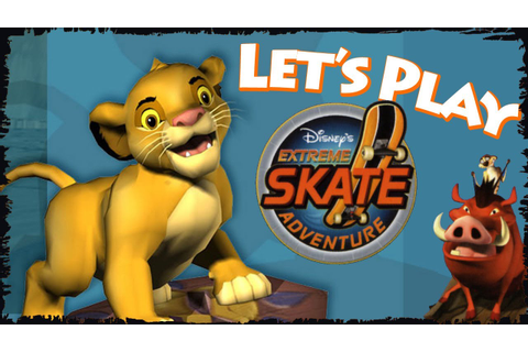 Let's Play Disney Extreme Skate Adventure! - YouTube