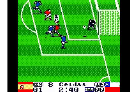 International Superstar soccer 99 (Gameboy Color) Chile vs ...