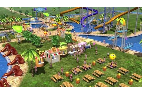 What the Farming Simulator lot did next: Water Park Tycoon ...