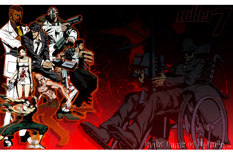 Killer7 Wallpaper 2 by PixelArtPaintings on DeviantArt
