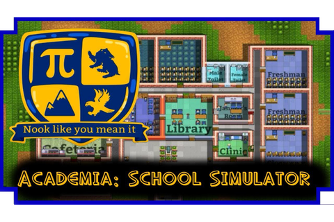 Academia: School Simulator - (School Building / Management ...