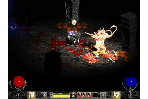 Diablo 2 - Back to Hellfire - warrior gameplay - YouTube