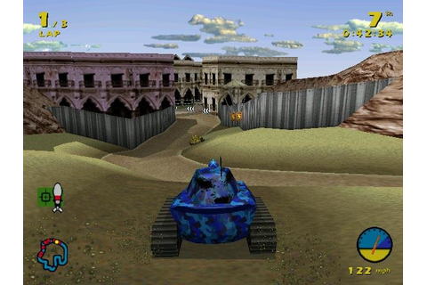 Tank Racer - PC Review and Full Download | Old PC Gaming