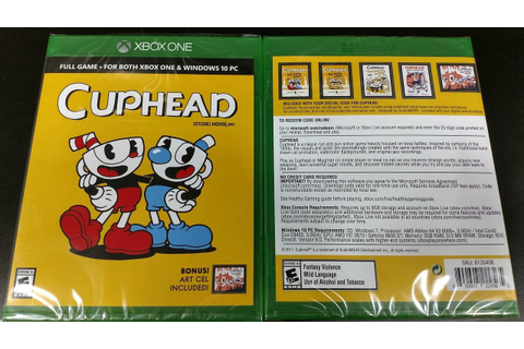 Cuphead's physical edition opts for a game code rather ...