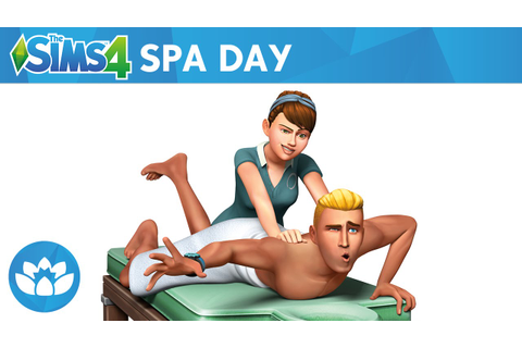 The Sims 4 Spa Day: Official Trailer - YouTube