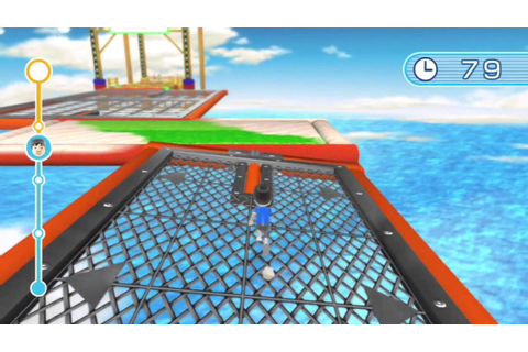 [Wii Fit U] Ultimate Obstacle Course Gameplay - YouTube