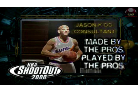NBA ShootOut 2000 (Playstation): Intro - YouTube
