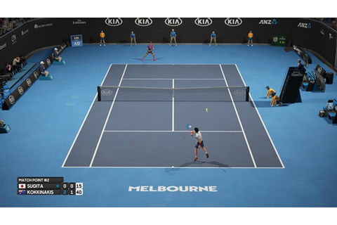 AO International Tennis Game - Hellopcgames