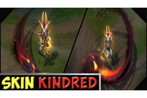 Kindred In Game +Shadowfire Kindred | League of legends ...