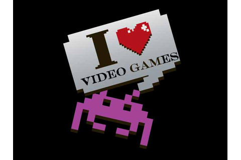 I love video games happy National Video Games Day