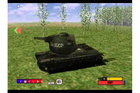 Panzer Front : PS1 game on PC. - YouTube