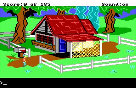 King's Quest II: Romancing the Throne (DOS, Amiga) Game ...