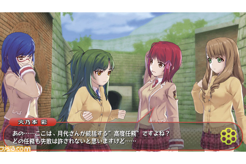 First look at Bullet Girls for PS Vita - Gematsu