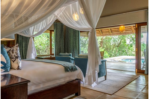 Luxury Thatched Suite - Picture of Savanna Private Game ...