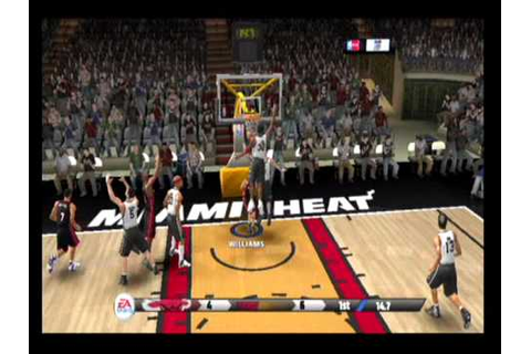 NBA LIVE 09 Ps2 Gameplay - YouTube