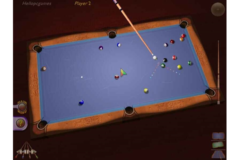 3d Ultra Cool Pool Snooker Game - Hellopcgames