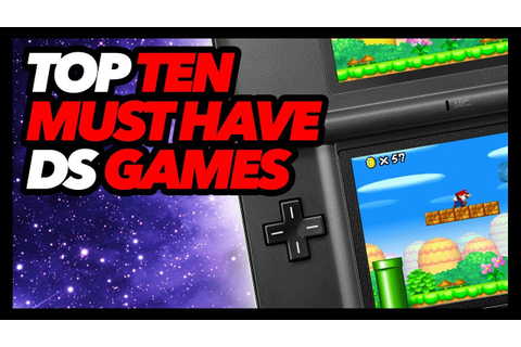 Top Ten Must Have Nintendo DS Games - YouTube