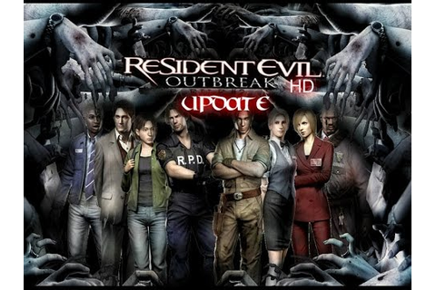 Resident Evil Outbreak HD Update - YouTube