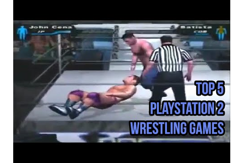 Top 5 Playstation 2 Wrestling Games - YouTube
