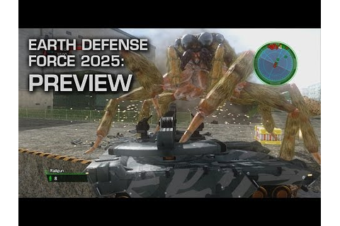 Video Games: Why So Serious? - Earth Defense Force 2025 ...