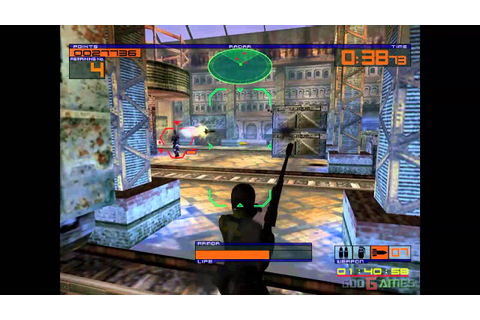 Outtrigger - Gameplay Dreamcast HD 720P - YouTube