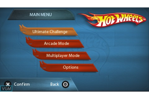 Hot Wheels Ultimate Racing for Sony PSP - The Video Games ...