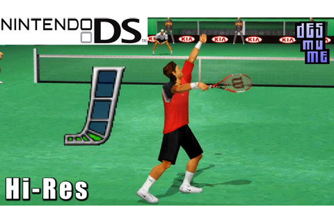 Top Spin 2 - Nintendo DS Gameplay High Resolution (DeSmuME ...