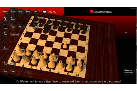Windows 8.1 3D chess game free review - YouTube