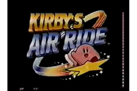 Kirby's Air Ride (Nintendo 64) Cancelled Game [1996] - YouTube