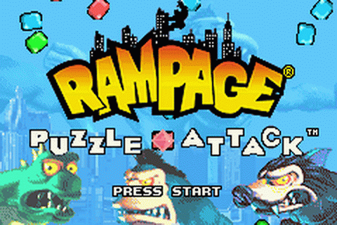 Play Rampage - Puzzle Attack Nintendo Game Boy Advance ...