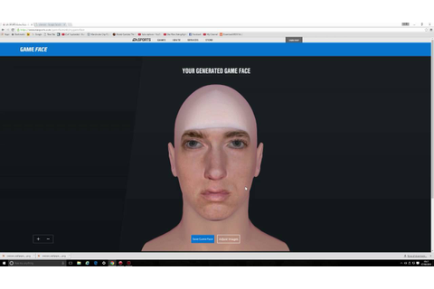 EA SPORTS UFC 2 Gameface Fighter Creator Tutorial Hints n ...