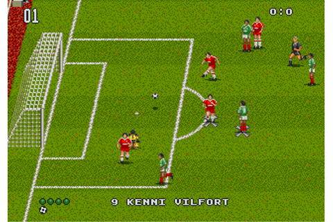 Play World Trophy Soccer Online - Play Sega Genesis / Mega ...