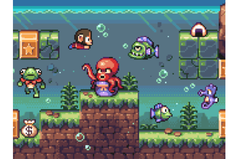 COOL PIXEL ART! - Alex Kidd in Miracle World by DYA Games ...