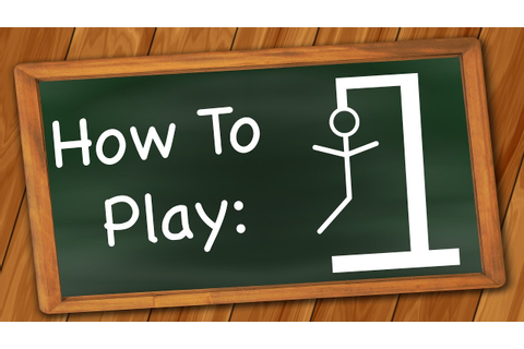 How to Play: Hangman - YouTube