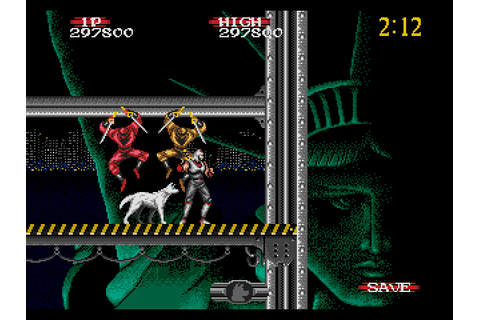 Shadow Dancer: The Secret of Shinobi / Genesis / 1990 ...