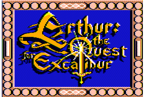 Arthur: The Quest for Excalibur (1989) by Infocom Apple II ...