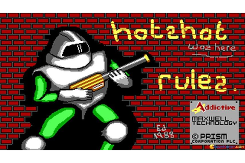 Hotshot gameplay (PC Game, 1988) - YouTube