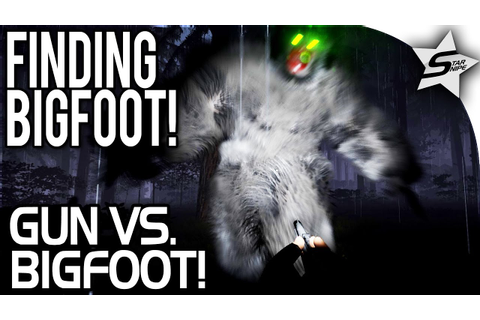 GUN VS. BIGFOOT... Armed and Ready! - Finding Bigfoot Game ...