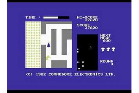 C64 Gamevideo 02 - Radar Rat Race - YouTube