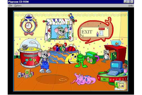 Broderbund's The Playroom Full Playthrough (1996 CD-ROM ...