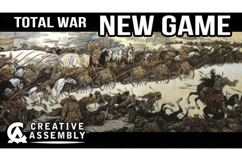 NEW Total War Game Announcement !!! - YouTube