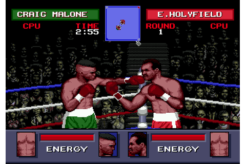 Evander Holyfield's 'Real Deal' Boxing (1992) by ACME ...