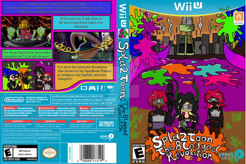 Splatoon 2 - Fake Game Cover by StarrySkyofLostSouls on ...